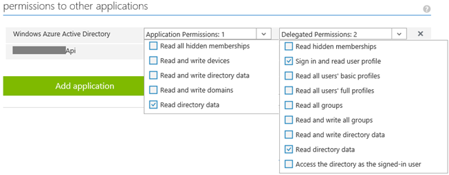 Setup Swagger to authenticate against Azure Active Directory - Armin