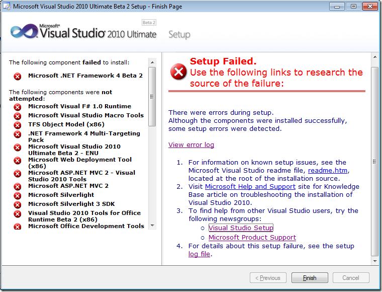 Welcome Visual Studio 2010 Ultimate Beta 2 - Damir Dobric