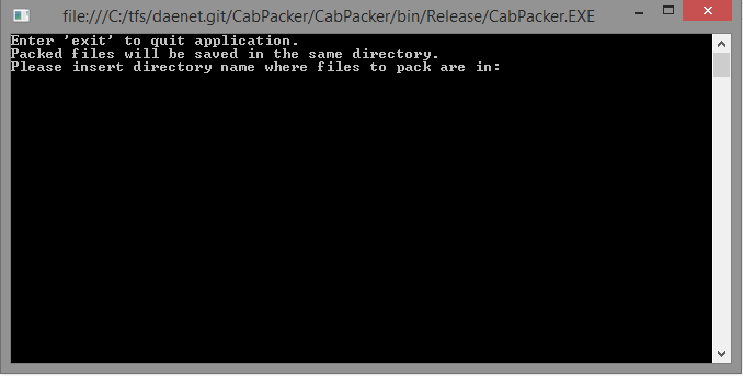 CabFilePacker for creating InfoPath CAB files - Holger's Blog ...