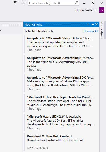 Visual Studio 2013 SQL Schema Compare not working - Holger's