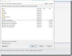 Unity and Visual Studio Team Foundation Server–Why not all files